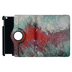 Metallic Abstract 2 Apple Ipad 3/4 Flip 360 Case by timelessartoncanvas