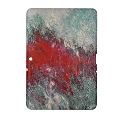 Metallic Abstract 2 Samsung Galaxy Tab 2 (10 1 ) P5100 Hardshell Case  by timelessartoncanvas