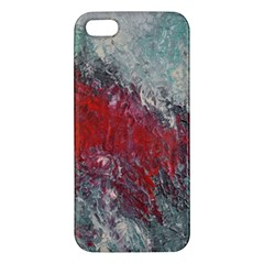 Metallic Abstract 2 Iphone 5s Premium Hardshell Case by timelessartoncanvas