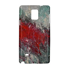 Metallic Abstract 2 Samsung Galaxy Note 4 Hardshell Case by timelessartoncanvas