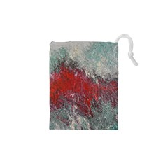 Metallic Abstract 2 Drawstring Pouches (xs)  by timelessartoncanvas