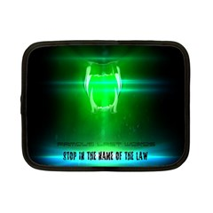 Stop In The Name Of The Law Netbook Case (small)  by RespawnLARPer