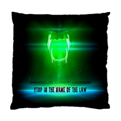 Stop In The Name Of The Law Standard Cushion Cases (two Sides)  by RespawnLARPer