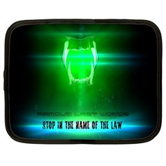 Stop In The Name Of The Law Netbook Case (xxl)
