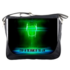 Stop In The Name Of The Law Messenger Bags