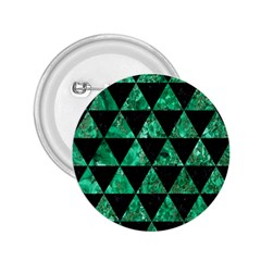 Triangle3 Black Marble & Green Marble 2 25  Button by trendistuff