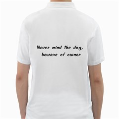 Beware Of Owner Golf Shirts by ButThePitBull