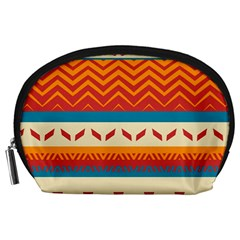 Tribal Shapes  Accessory Pouch by LalyLauraFLM