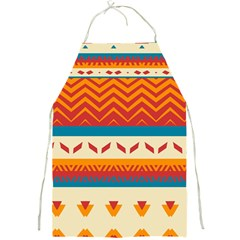 Tribal Shapes  			full Print Apron by LalyLauraFLM