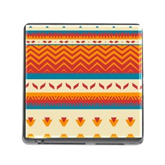 Tribal Shapes  			memory Card Reader (square) by LalyLauraFLM