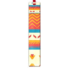 Tribal Shapes  			large Book Mark by LalyLauraFLM