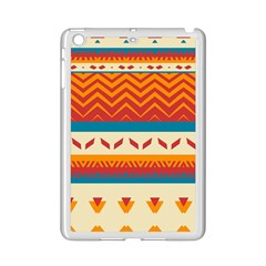 Tribal Shapes  			apple Ipad Mini 2 Case (white) by LalyLauraFLM