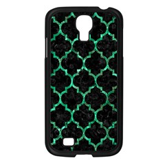 Tile1 Black Marble & Green Marble (r) Samsung Galaxy S4 I9500/ I9505 Case (black) by trendistuff