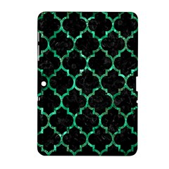 Tile1 Black Marble & Green Marble (r) Samsung Galaxy Tab 2 (10 1 ) P5100 Hardshell Case  by trendistuff