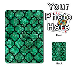 Tile1 Black Marble & Green Marble Multi Purpose Cards (rectangle)