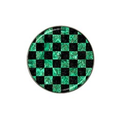 Square1 Black Marble & Green Marble Hat Clip Ball Marker (10 Pack) by trendistuff