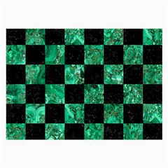 Square1 Black Marble & Green Marble Large Glasses Cloth by trendistuff