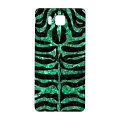 Skin2 Black Marble & Green Marble (r) Samsung Galaxy Alpha Hardshell Back Case by trendistuff
