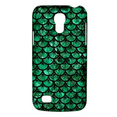 Scales3 Black Marble & Green Marble Samsung Galaxy S4 Mini (gt I9190) Hardshell Case  by trendistuff
