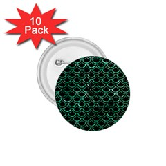 Scales2 Black Marble & Green Marble (r) 1 75  Button (10 Pack)  by trendistuff