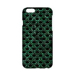 Scales2 Black Marble & Green Marble (r) Apple Iphone 6/6s Hardshell Case by trendistuff