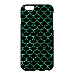 Scales1 Black Marble & Green Marble (r) Apple Iphone 6 Plus/6s Plus Hardshell Case