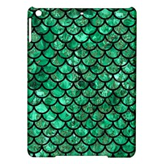 Scales1 Black Marble & Green Marble Apple Ipad Air Hardshell Case by trendistuff