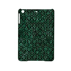 Hexagon1 Black Marble & Green Marble (r) Apple Ipad Mini 2 Hardshell Case by trendistuff