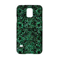 Damask2 Black Marble & Green Marble (r) Samsung Galaxy S5 Hardshell Case  by trendistuff