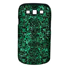 Damask2 Black Marble & Green Marble Samsung Galaxy S Iii Classic Hardshell Case (pc+silicone) by trendistuff