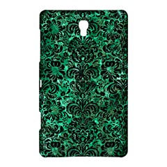 Damask2 Black Marble & Green Marble Samsung Galaxy Tab S (8 4 ) Hardshell Case