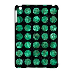 Circles1 Black Marble & Green Marble (r) Apple Ipad Mini Hardshell Case (compatible With Smart Cover) by trendistuff