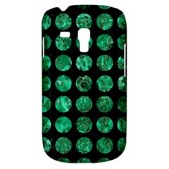 Circles1 Black Marble & Green Marble (r) Samsung Galaxy S3 Mini I8190 Hardshell Case by trendistuff
