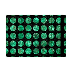 Circles1 Black Marble & Green Marble (r) Apple Ipad Mini 2 Flip Case by trendistuff