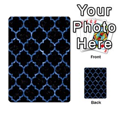 Tile1 Black Marble & Blue Marble (r) Multi Purpose Cards (rectangle) by trendistuff