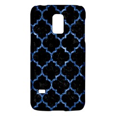 Tile1 Black Marble & Blue Marble (r) Samsung Galaxy S5 Mini Hardshell Case