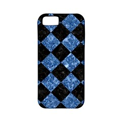 Square2 Black Marble & Blue Marble Apple Iphone 5 Classic Hardshell Case (pc+silicone) by trendistuff