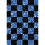 SQUARE1 BLACK MARBLE & BLUE MARBLE LOVE 3D Greeting Card (7x5) Inside