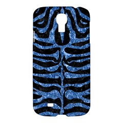 Skin2 Black Marble & Blue Marble (r) Samsung Galaxy S4 I9500/i9505 Hardshell Case by trendistuff
