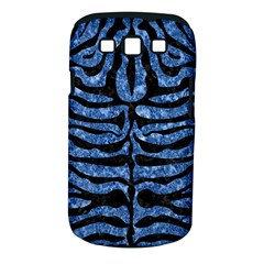 Skin2 Black Marble & Blue Marble Samsung Galaxy S Iii Classic Hardshell Case (pc+silicone) by trendistuff