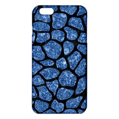 Skin1 Black Marble & Blue Marble (r) Iphone 6 Plus/6s Plus Tpu Case by trendistuff