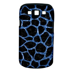 Skin1 Black Marble & Blue Marble Samsung Galaxy S Iii Classic Hardshell Case (pc+silicone) by trendistuff