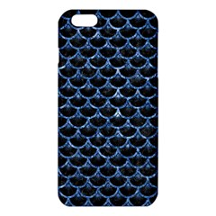 Scales3 Black Marble & Blue Marble (r) Iphone 6 Plus/6s Plus Tpu Case