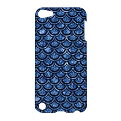Scales2 Black Marble & Blue Marble Apple Ipod Touch 5 Hardshell Case by trendistuff