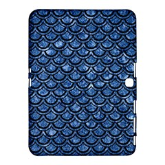 Scales2 Black Marble & Blue Marble Samsung Galaxy Tab 4 (10 1 ) Hardshell Case