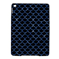 Scales1 Black Marble & Blue Marble (r) Apple Ipad Air 2 Hardshell Case by trendistuff