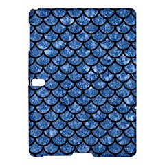 Scales1 Black Marble & Blue Marble Samsung Galaxy Tab S (10 5 ) Hardshell Case
