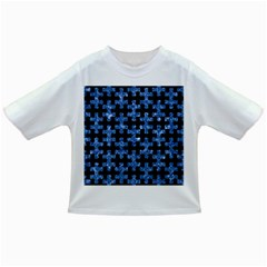 Puzzle1 Black Marble & Blue Marble Infant/toddler T Shirt by trendistuff