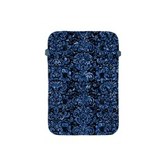 Damask2 Black Marble & Blue Marble (r) Apple Ipad Mini Protective Soft Case by trendistuff