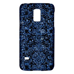 Damask2 Black Marble & Blue Marble (r) Samsung Galaxy S5 Mini Hardshell Case  by trendistuff